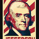 Thomas Jefferson Retro Propaganda by idaspark