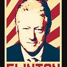 Bill Clinton Retro Propaganda by idaspark