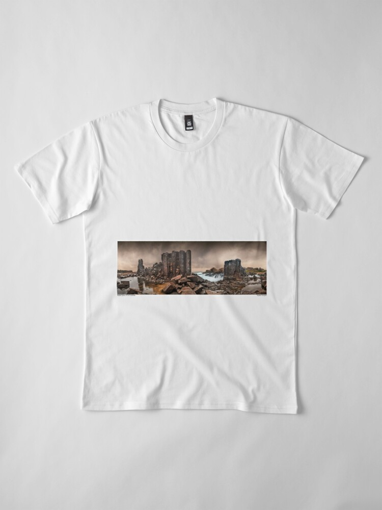 Alternate view of Bombo Quarry Storm Premium T-Shirt