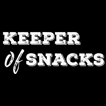 Keeper Of Snacks by with-care