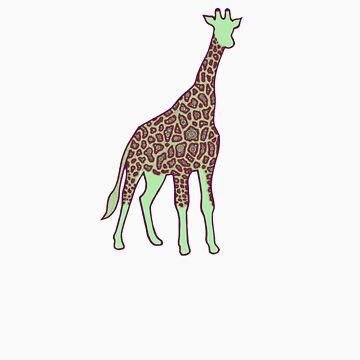 Giraffe by MKMasonArts