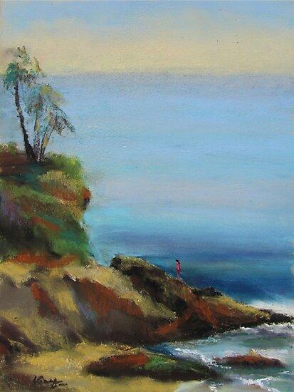 Diver's Cove, Laguna Beach  by Leslie Gustafson