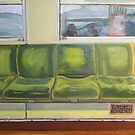 Train Seats by Tomoe Nakamura