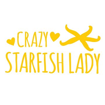 Crazy Starfish lady by jazzydevil