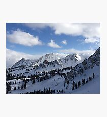 Utah Slopes Photographic Print