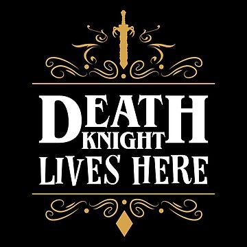 El caballero de la muerte vive aquí de pixeptional