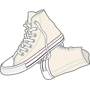 Zapato blanco natural popular del vintage retro de tlaprise
