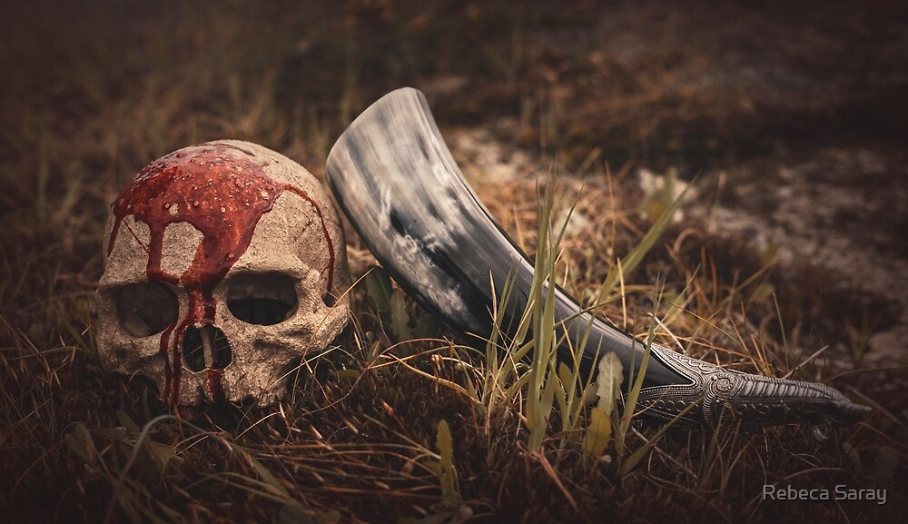 «Viking Skull» de Rebeca Saray