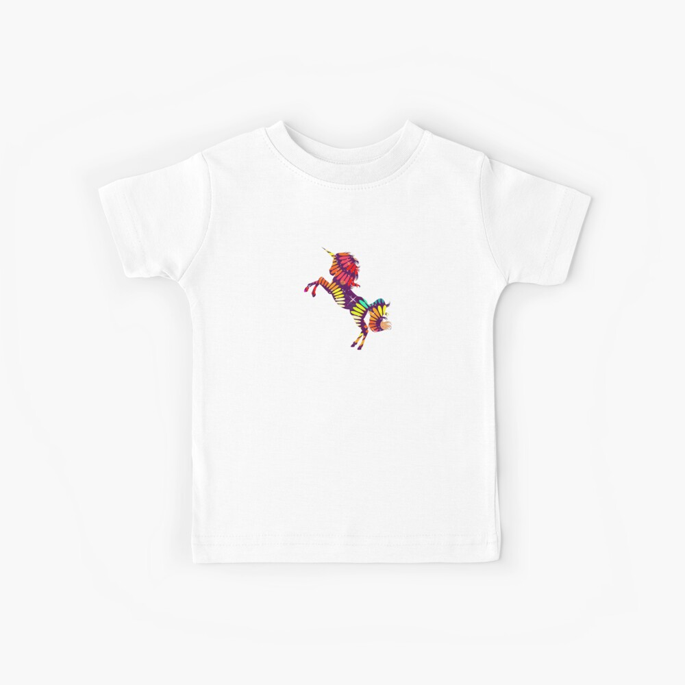 Rainbow Unicornsss Kinder T-Shirt