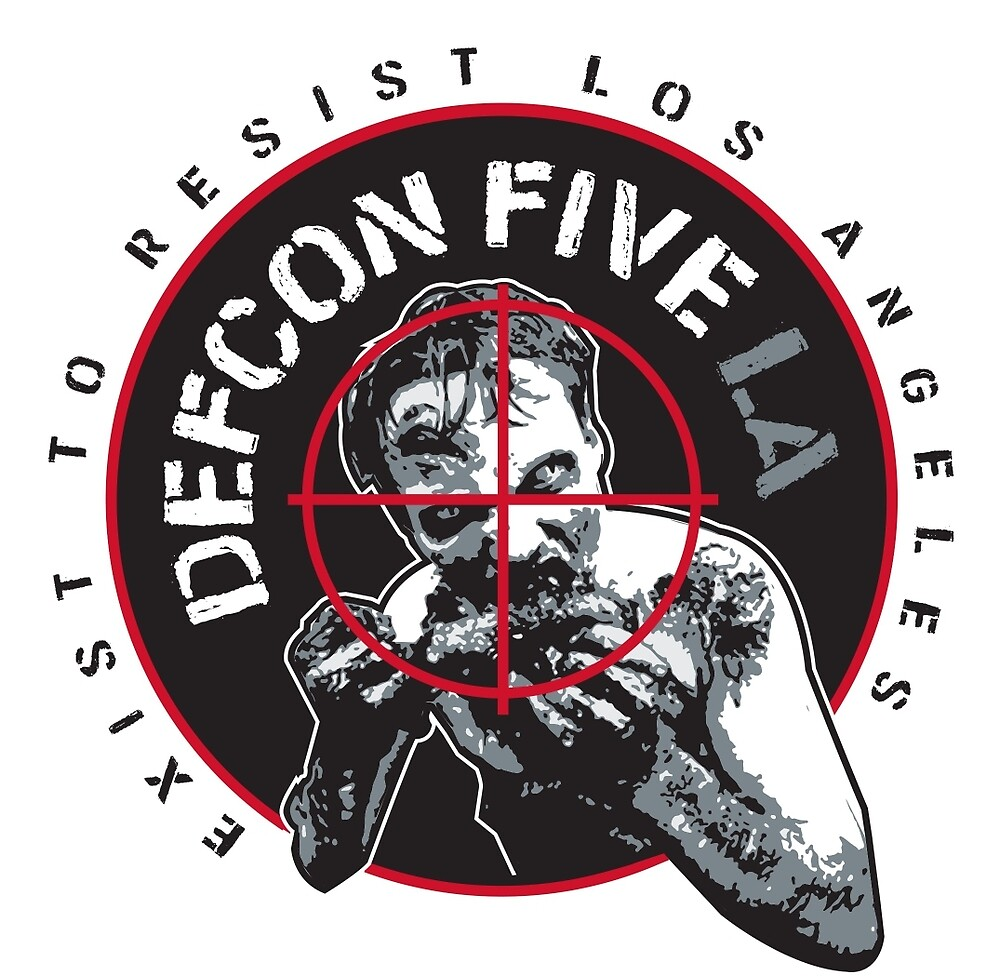 DEFCON5 LOS ANGELES by seizethejay