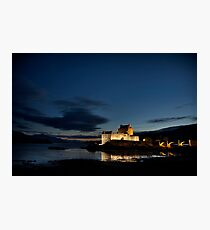 The Castle Of Loch Duich Photographic Print