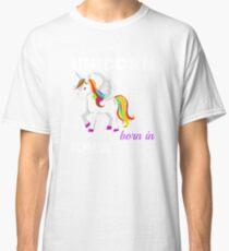 Einhorn geboren Iowa Classic T-Shirt