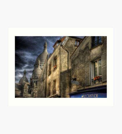 Montmartre, Paris Art Print