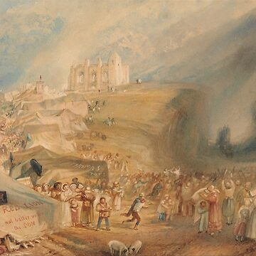"Joseph Mallord William Turner ""Saint Catherine's Hill, Guildford, Surrey"" by ALD1"