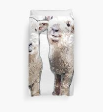 Two Sheep bywhacky Duvet Cover