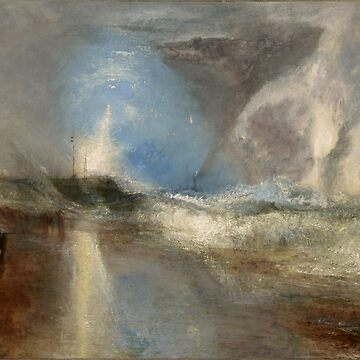"Joseph Mallord William Turner ""Rockets and Blue Lights (Close at Hand) to Warn Steam Boats of Shoal"" by ALD1"