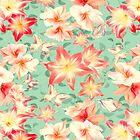 Frühlingsamaryllis und Schmetterlinge von RoxanneG