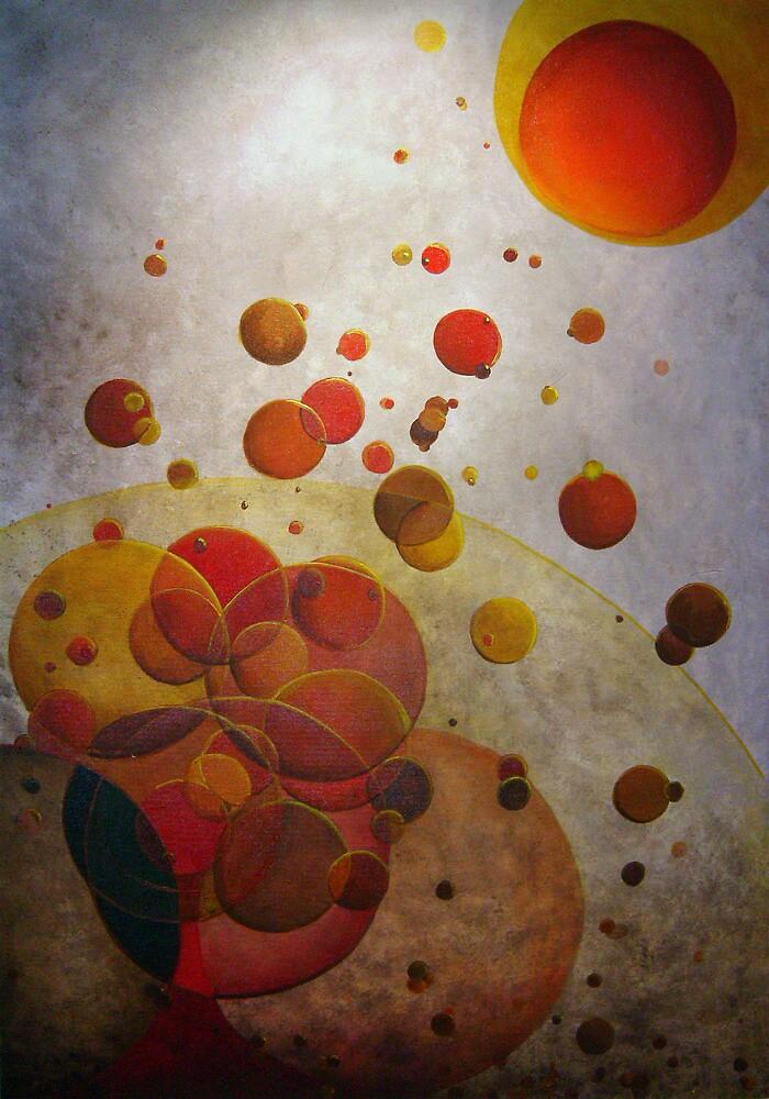 "Painting ""Warm-N-ing"" by QUIM Alcantara"
