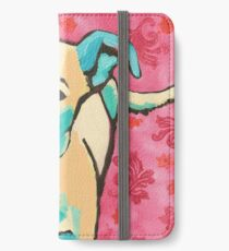 Zoe with Pink Pattern iPhone Wallet/Case/Skin