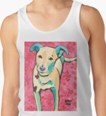 Zoe with Pink Pattern Tank Top