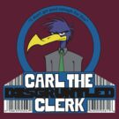 Carl the Disgruntled Clerk by gooieduck