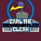 Carl the Disgruntled Clerk by gooieduck