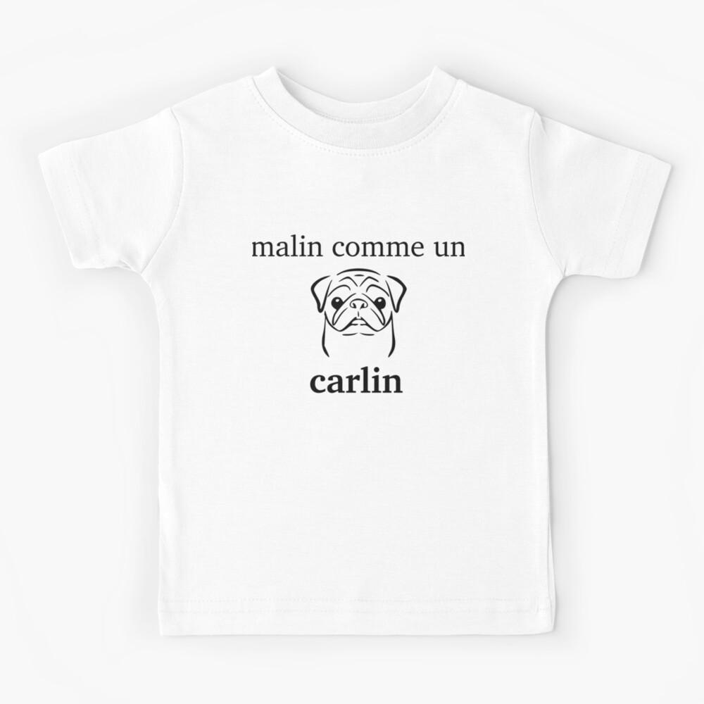 inteligente como Carlin Camiseta para niños