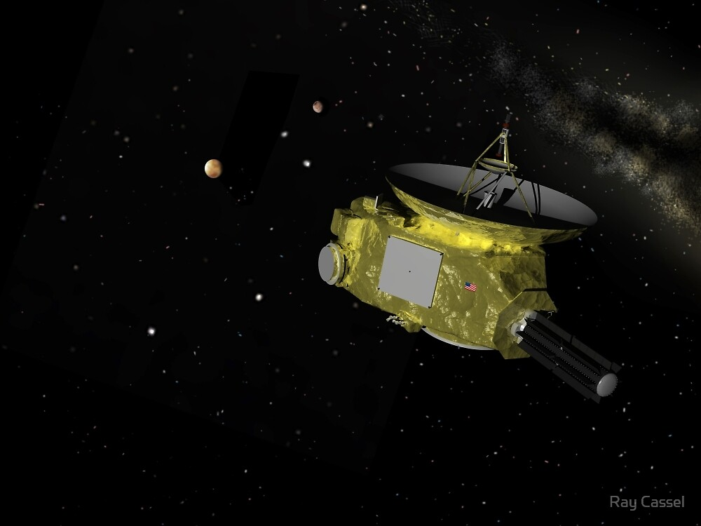 Approaching the Pluto System by Ray Cassel