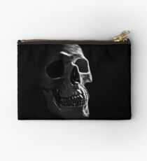 Human Skull Studio Pouch