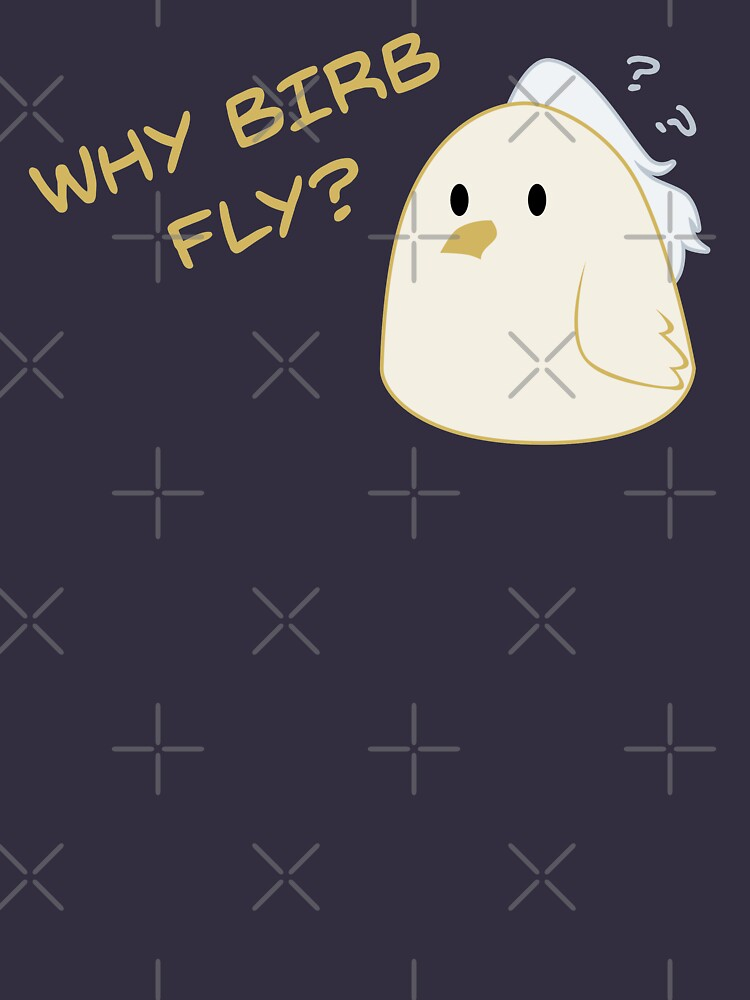 Why birb fly? by DeguArts