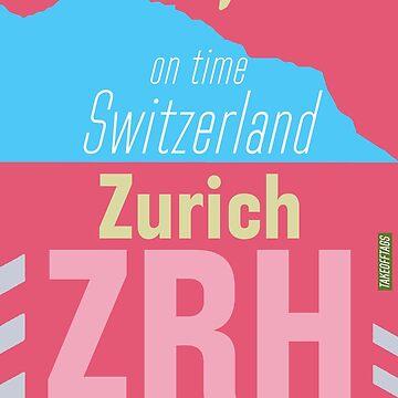 Airport ZRH Zurich by Aviators