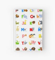 ABC (spanish) Hardcover Journal
