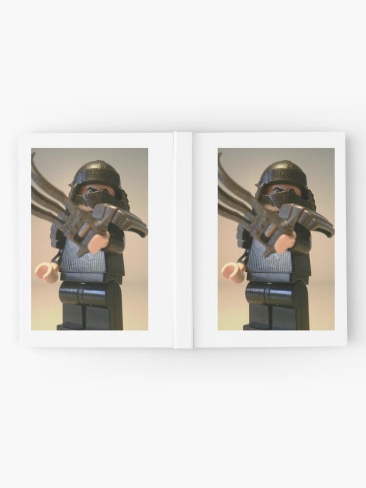 Alternative Ansicht von TMNT Teenage Mutant Ninja Turtles Master Shredder Custom Minifigure iPhone Case 'Customize My Minifig' Notizbuch