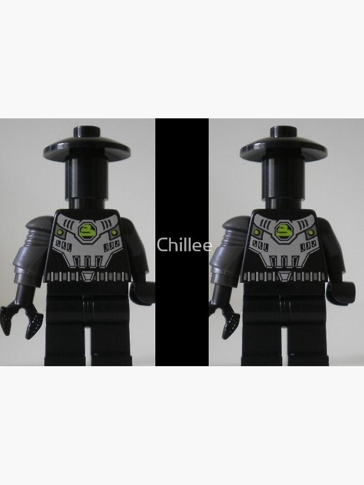 Custom Cyber Droid Shadow Soldier Minifig von Chillee