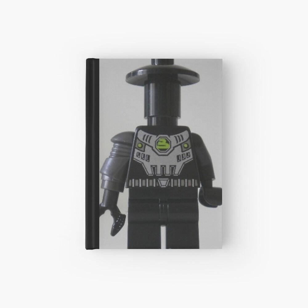 Custom Cyber Droid Shadow Soldier Minifig Notizbuch