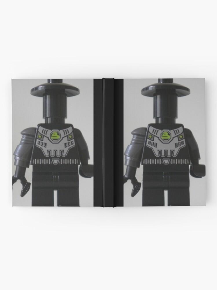 Alternative Ansicht von Custom Cyber Droid Shadow Soldier Minifig Notizbuch