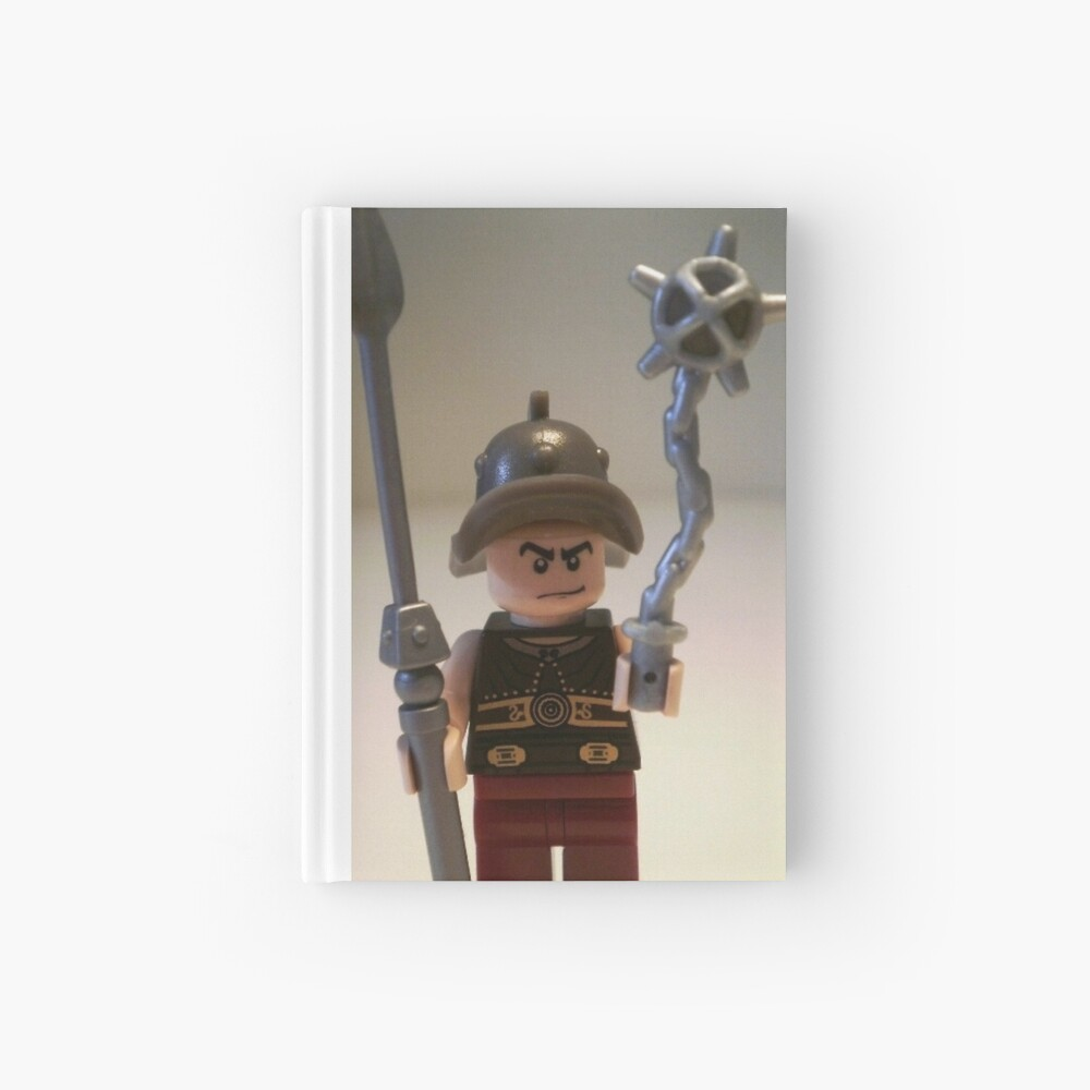 Gladiator 'Cracalla the Gladiator' Custom Minifigure Notizbuch