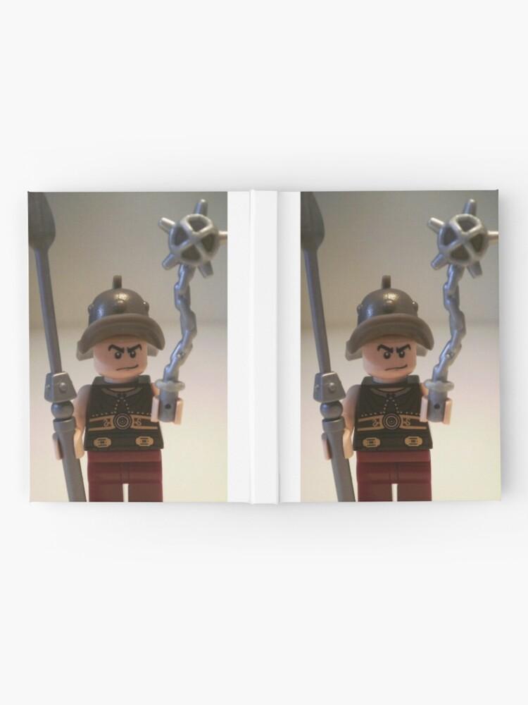 Alternative Ansicht von Gladiator 'Cracalla the Gladiator' Custom Minifigure Notizbuch