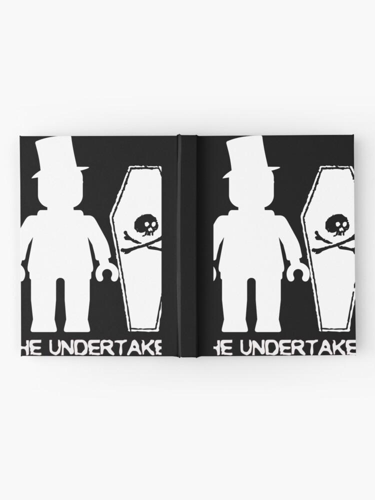 """Alternative Ansicht von """"THE UNDERTAKER""""  Notizbuch"""