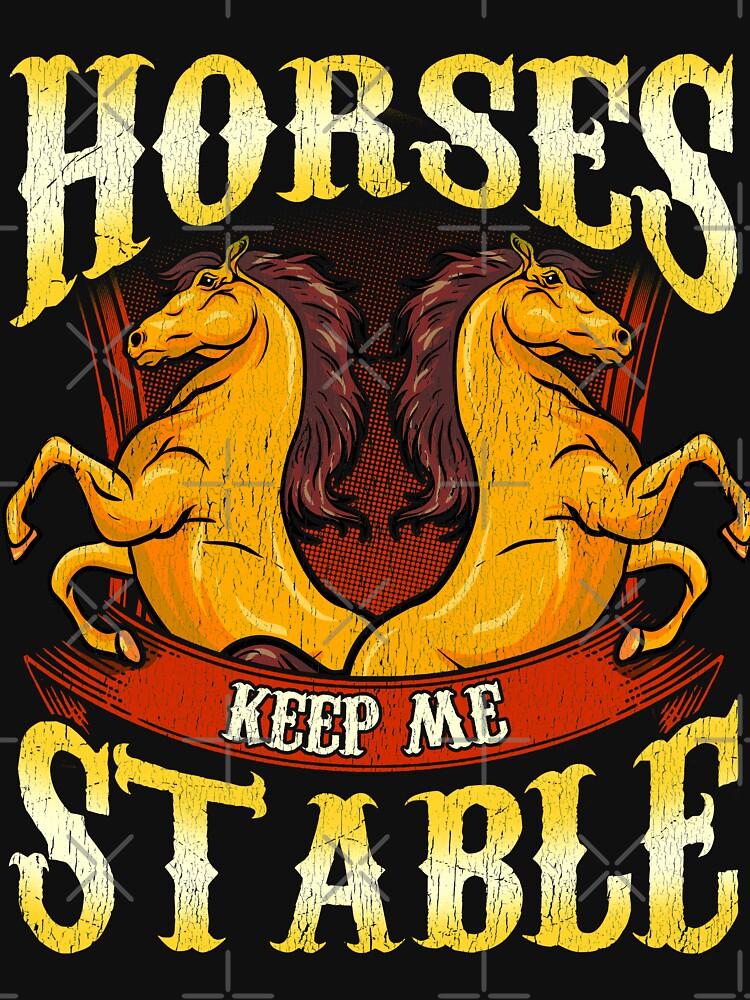 Pferde halten mich stabil von frittata