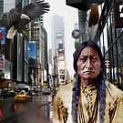 An indian in NEW YORK by givemefive