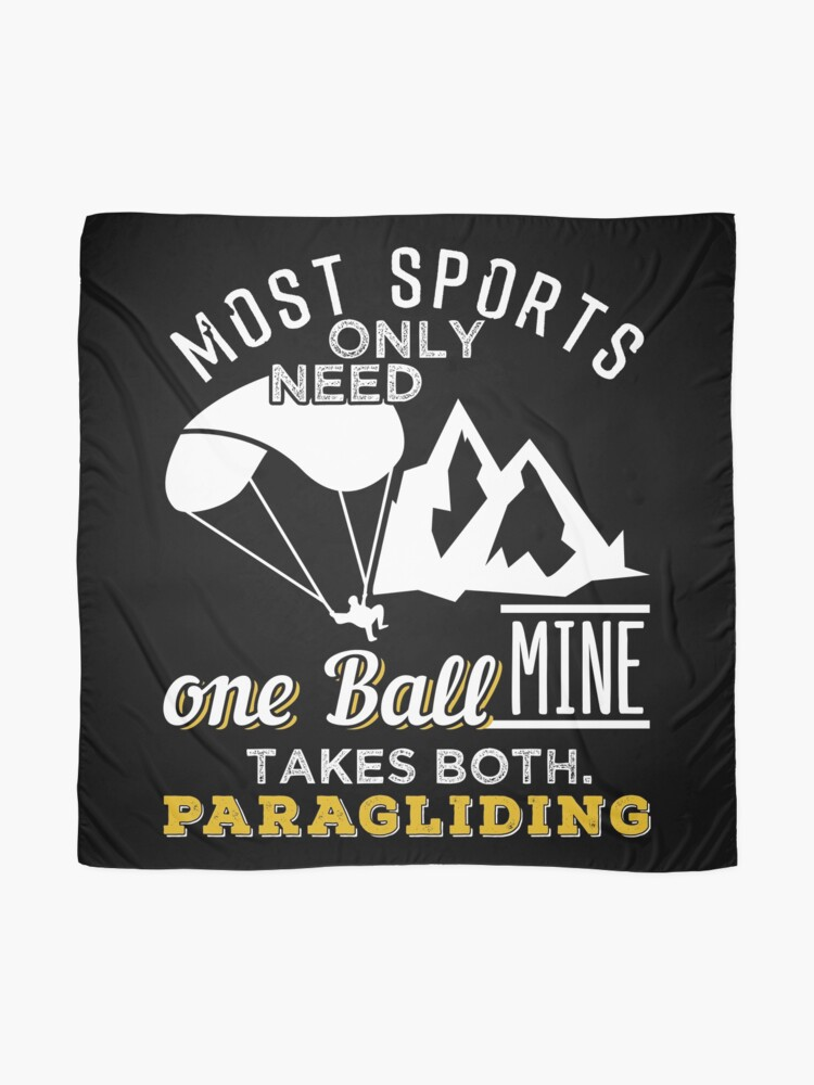 Alternate view of Paragliding Need Both Balls Scarf