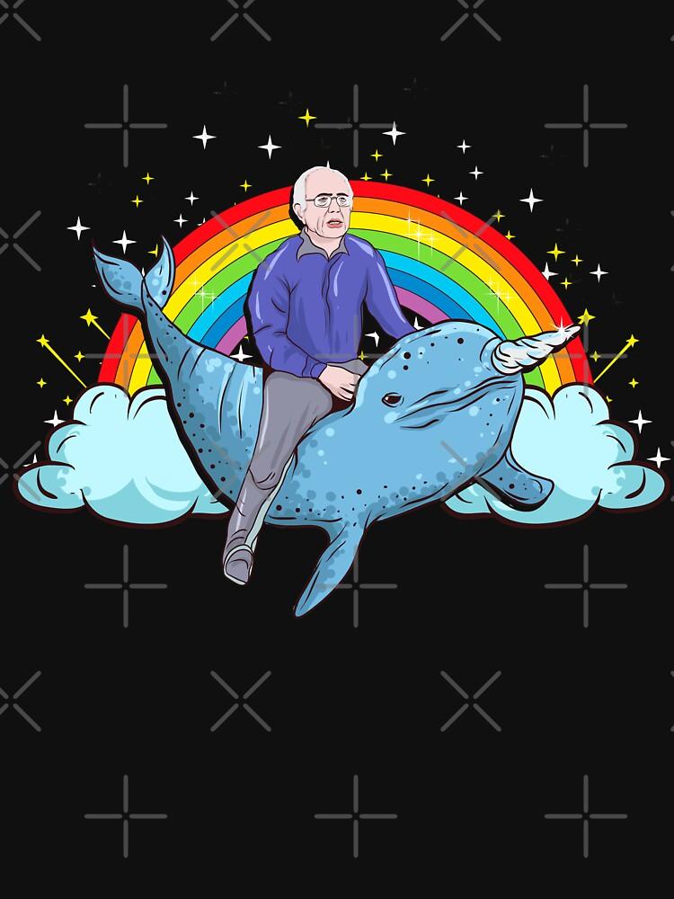 Bernie Sanders Narwhal 2020 von frittata