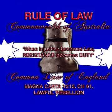 Magna Carta Rule of Law 1215 Australia by djhypnotixx
