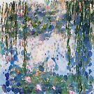 Garlic Lilies Water Lilies Fine Art Parody by taiche