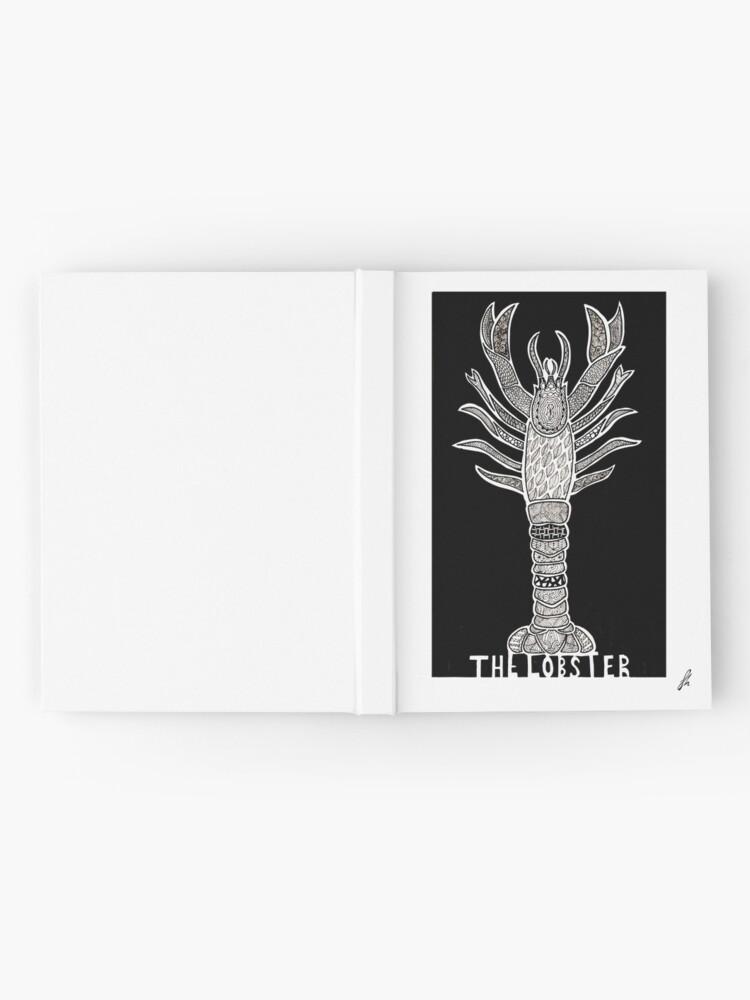 Alternative Ansicht von Der Hummer - alternatives Filmplakat Notizbuch