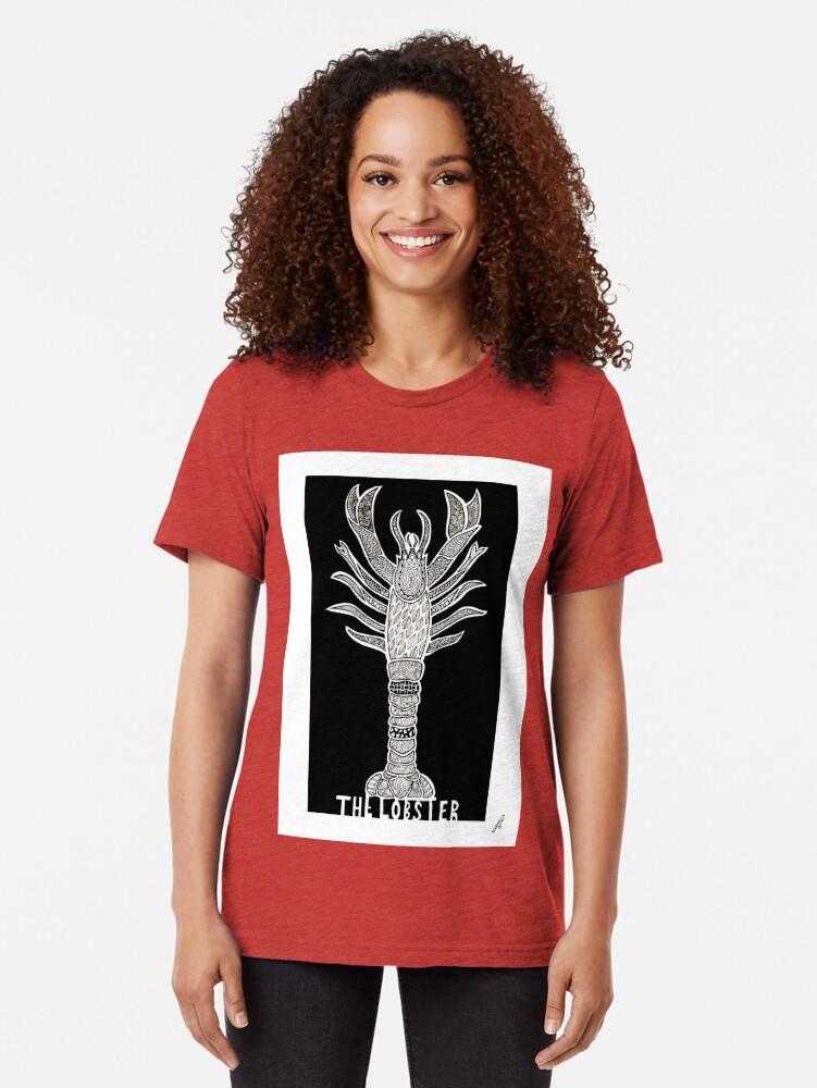 Alternative Ansicht von Der Hummer - alternatives Filmplakat Vintage T-Shirt