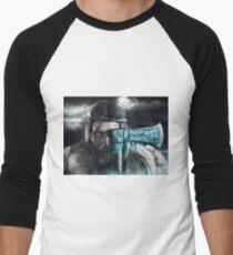 Viking Camiseta ¾ bicolor para hombre