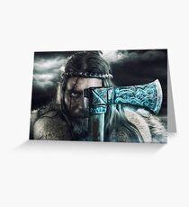 Viking Tarjeta de felicitación