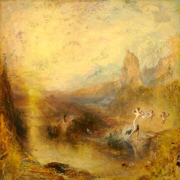 "Joseph Mallord William Turner ""Glaucus and Scylla"" by ALD1"